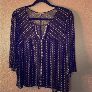 Miss Me Viscose Blouse